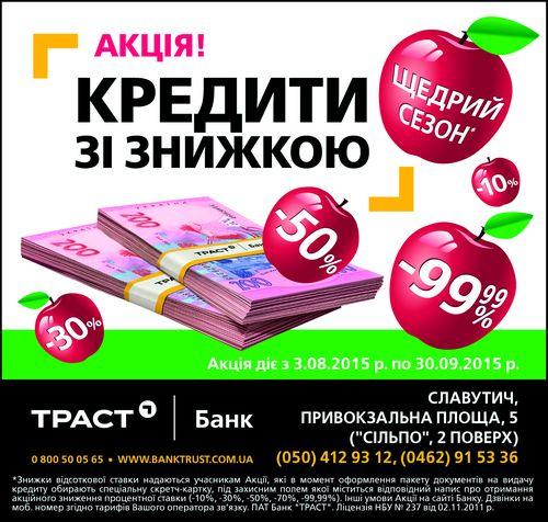 Кредит онлайн на карту без отказа в Украине